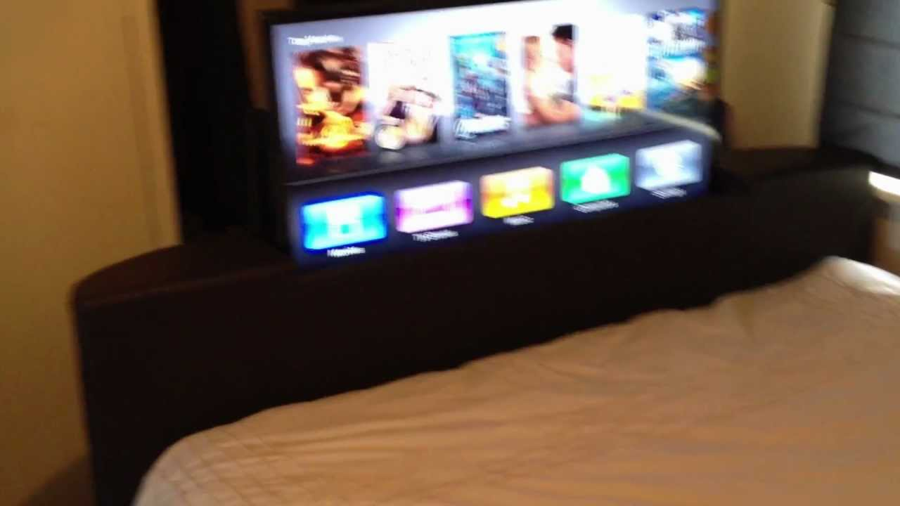 Tv In Bed : Super king size tv beds media bedsteads bedstar