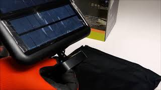 Lampa solarna 120 led
