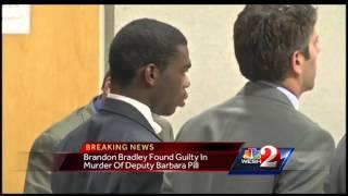 Jury finds Brandon Bradley guilty of first-degree murder