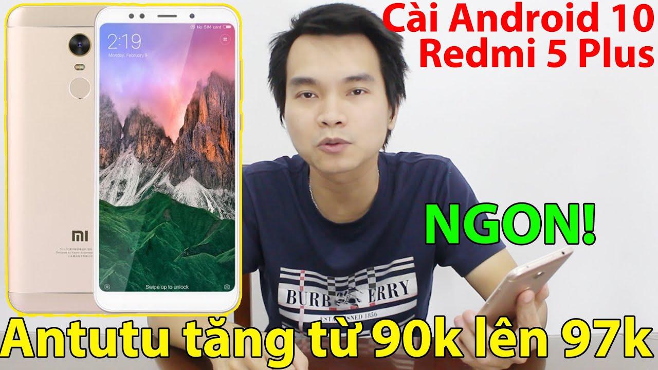 NGON QUÁ Xiaomi Redmi 5 Plus Chạy Android 10 Nhiều Tính Năng Hay   Mua Điện Thoại Giá Rẻ Trên Shopee