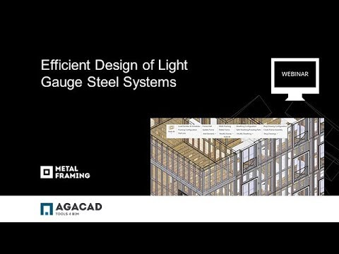 Efficiently Designing Light-Gauge Steel Framing Systems (Imp
