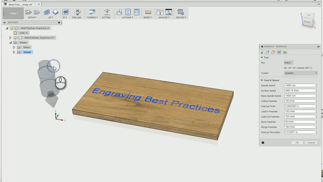 Best Practices for Engraving in Fusion 360