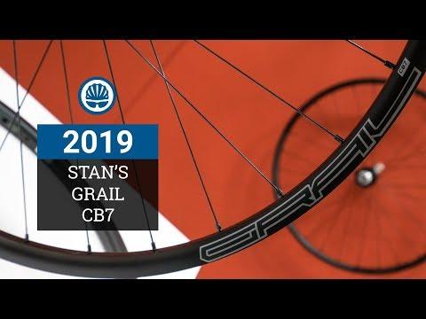 Stan's NoTubes Grail CB7 - Sub 1,300g Gravel Wheelset