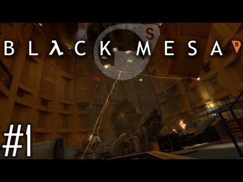 Black Mesa Walkthrough - İnceleme Gibi Giriş Bölümü - Bölüm 1