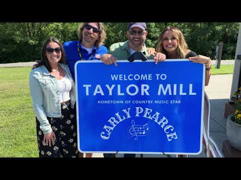 Carly Pearce Sign Stolen!