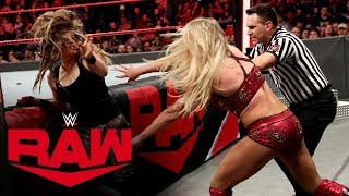 Sarah Logan pays a painful price for jumping Charlotte Flair: Raw, Jan. 6, 2020
