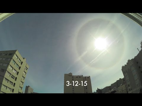 21 incredibly rare sundogs in a month over San Francisco