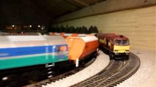 Loft Lane Model Railway (Hornby Class 59 & Bachmann Class 66)