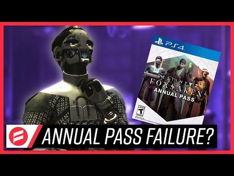 "Destiny 2: Forsaken – Let's Talk About The Annual Pass' ""Failure"" // FutureFoe"