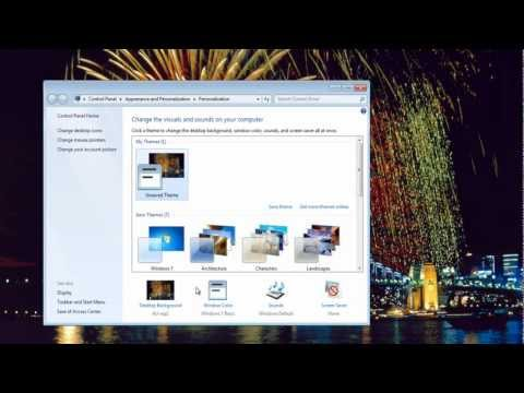 How To Access Hidden Regional Themes And Wallpapers In Windows 7