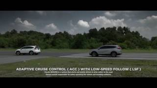 Honda SENSING™: The Next Generation Advanced Safety Technology in the All-New CR-V (Media Review)