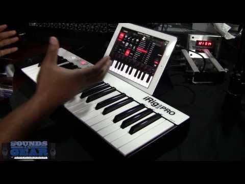 IK Multimedia iRig Keys Pro mobile keyboard review - SoundsAndGear