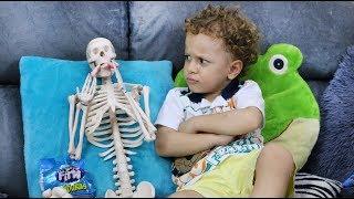 Cadu e o esqueletto que gostava de doces