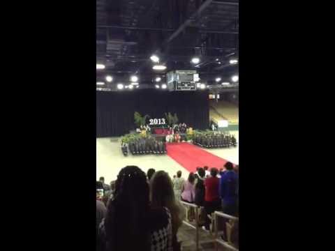 National Anthem at Graduation 2013 part 1