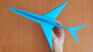 KAĞITTAN UÇAK YAPIMI ( Jet ) Paper Airplane / Kolay Origami