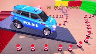 Police Car Games: Modern Car Parking Games 2021 Android Gameplay screenshot 1