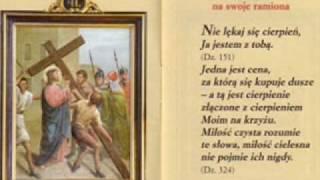 Droga krzyżowa Stacja II Jezus bierze krzyż na swoje ramiona