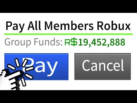 This ROBLOX GROUP is GIVING MEMBERS FREE ROBUX!!!!