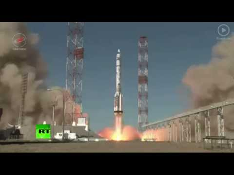 Russia launches 1st Proton rocket with UK sat after May accident