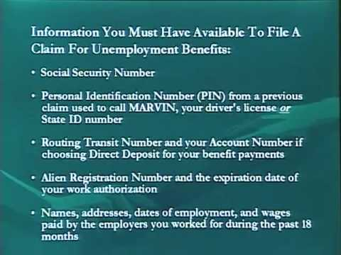 Filing Online Unemployment Claim In Michigan Part1 Youtube