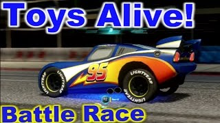 Cars 2: The video Game - Lightyear Lightning - Battle Race on Buckingham Sprint.