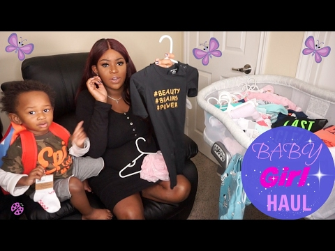 Newborn Baby GIRL Clothing Haul | Ralph Lauren, Baby Gap, H&M, Macy's, Amazon, Carter's, Etc.