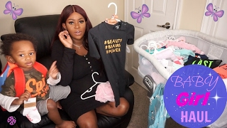 Newborn Baby GIRL Clothing Haul | Ralph Lauren, Baby Gap, H&M, Macy
