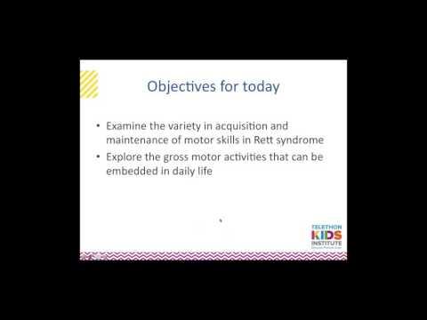 Using Gross Motor Skills in Daily Life in Rett Syndrome