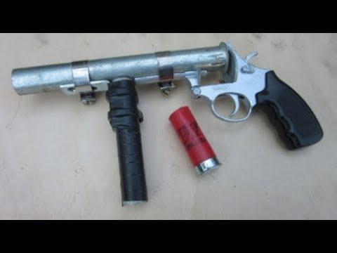 How to Make an Airsoft Shotgun Pistol -  $5