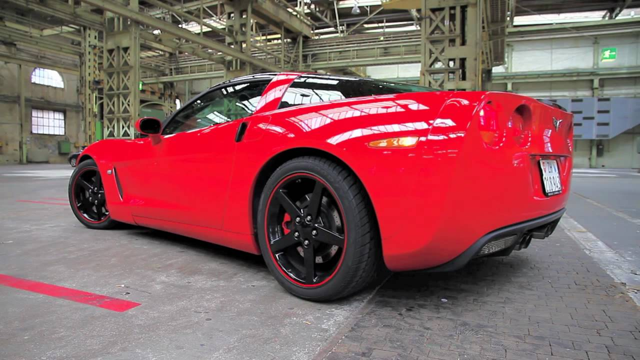 Corvette C6 With Custom Made Exhaust Youtube