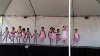 rancho bernardo street affair toddler ballet dance performance