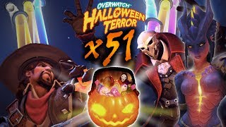 Overwatch - Avataan 51 Halloween Terror 2017 Loot Boxia!