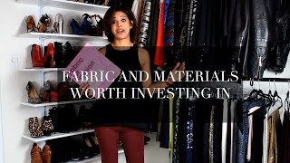Fabric and Materials Worth Investing In