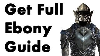Skyrim: How to Get Full Ebony Armor (No Smithing)