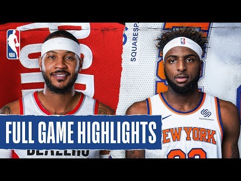TRAIL BLAZERS at KNICKS | FULL GAME HIGHLIGHTS |  January 1, 2020