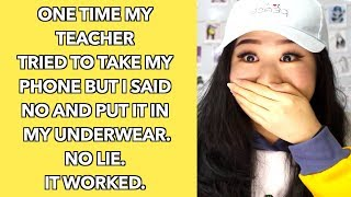 Teacher Natsuki hasegawa grades blows for better