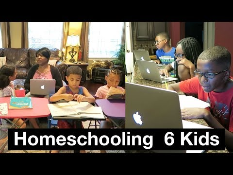 HOW BLACK MOM HOMESCHOOLS SIX KIDS