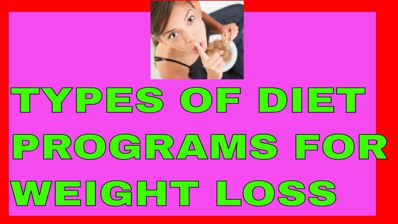 Types Of Diet Programs Fast Weight Loss Diet Plan Youtube