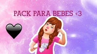 CC FOR TODDLERS || PACK PARA BEBÊS |THE SIMS 4