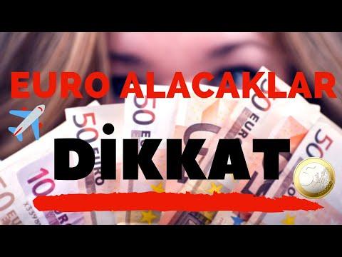 Euro Alacaklar İçin Seviyeler