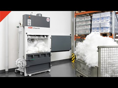 Prasa belująca HSM V-Press 610 eco