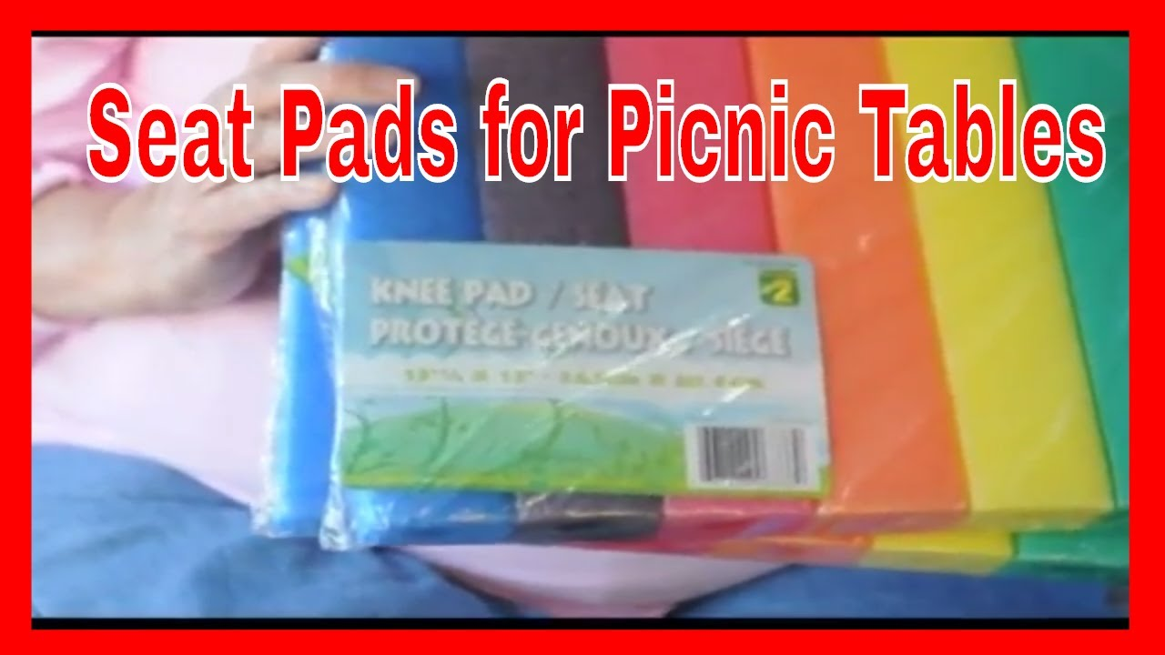Seat Pads For Picnic Tables Youtube