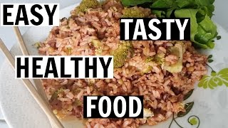 TASTY RICE SALAD RECIPE | No Fuss Food