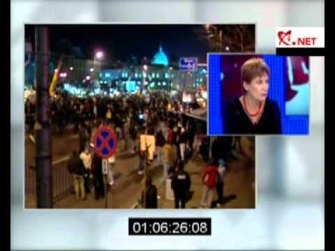Andreea Pora s-a certat cu Mircea Dinescu in direct la Realitatea TV
