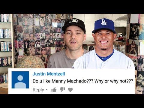 Q&A Part 13 -- Manny Machado, Fortnite, and peer pressure