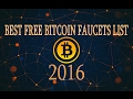 best faucet list bitcoin 2017