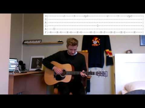 ben howard - rivers in your mouth (tutorial)