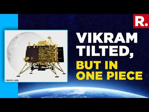 ISRO Reveals 'Vikram