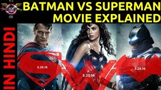 Understanding BATMAN VS SUPERMAN in HINDI