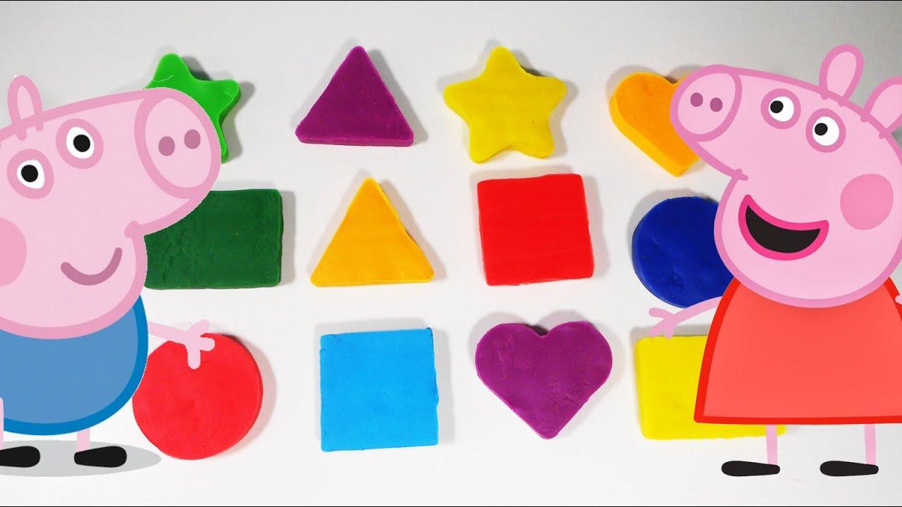 Las figuras geometricas con peppa pig formas geom tricas for Las formas geometricas